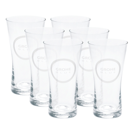 Grohe Accessories GROHE Blue glasses (6pieces)
