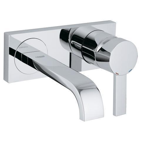 "Grohe Bathroom Sink Faucet StarLight Chrome Grohe ""Allure"" Bathroom Sink Faucet Trim Kit"