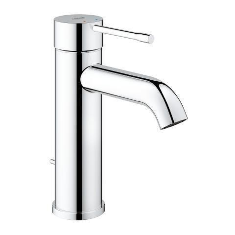 "Grohe Bathroom Sink Faucet StarLight Chrome Grohe ""Essence New"" Single Hole Bathroom Sink Faucet"