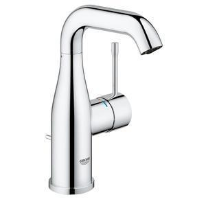 "Grohe Bathroom Sink Faucet StarLight Chrome Grohe ""Essence"" Single Hole Bathroom Sink Faucet"