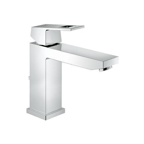 "Grohe Bathroom Sink Faucet Starlight Chrome Grohe ""Eurocube"" basin M Single Hole Bathroom Sink Faucet"