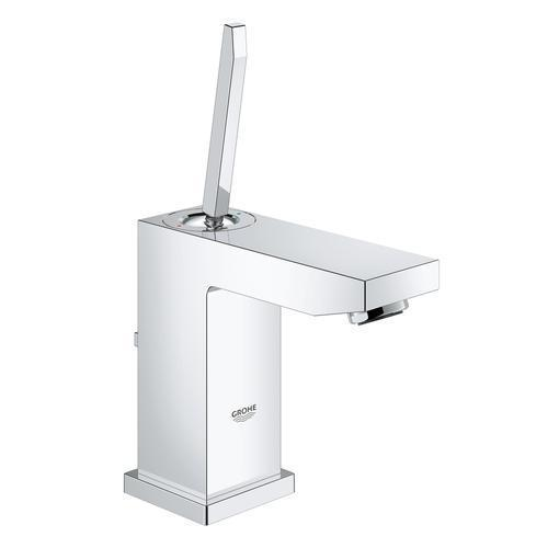 "Grohe Bathroom Sink Faucet StarLight Chrome Grohe ""Eurocube"" basin S Single Hole Bathroom Sink Faucet"
