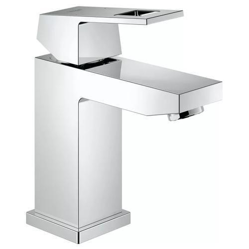 "Grohe Bathroom Sink Faucet StarLight Chrome Grohe ""Eurocube"" Smooth body S- Single Hole Bathroom Sink Faucet"
