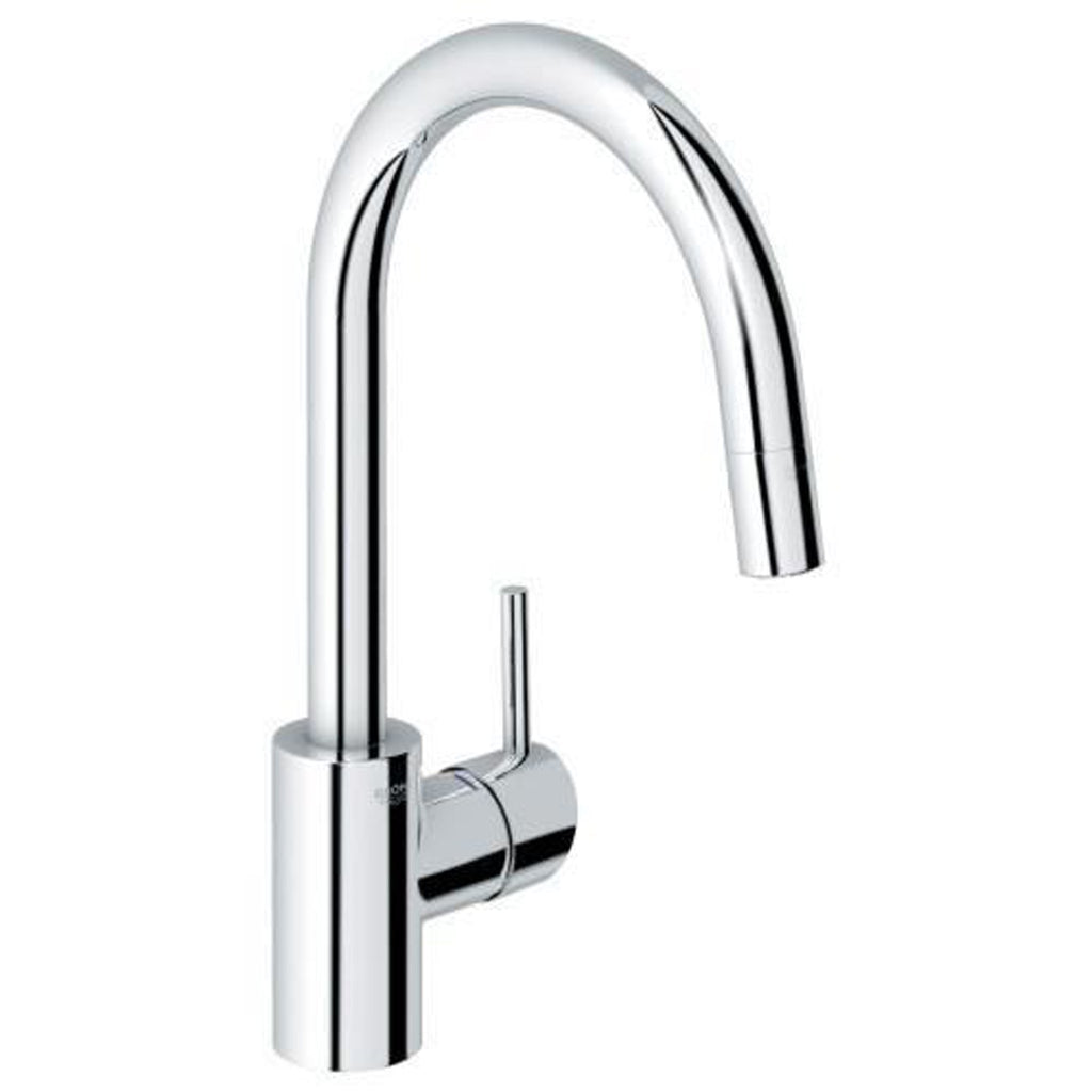 "grohe kitchen faucet Chrome Grohe ""Concetto"" Pull-Out Spray Kitchen Faucet"