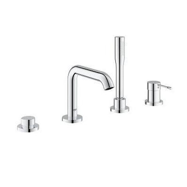 "Grohe Tub & Shower StarLight Chrome Grohe ""Essence New"" Deck Mount Tub Faucet With Handshower"