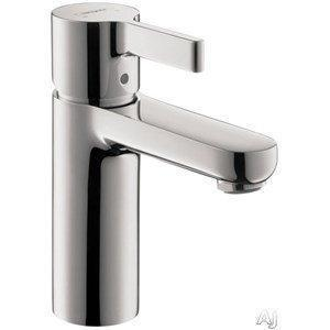 Hansgrohe Bathroom Faucet Chrome Hansgrohe Metris S Single Hole Bathroom Faucet