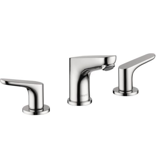 "Hansgrohe Bathroom Sink Faucet Chrome Hansgrohe ""Focus"" 8'' Widespread Bathroom Sink Faucet"
