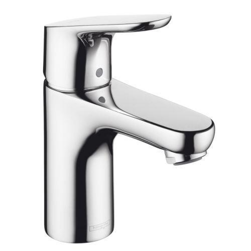 "Hansgrohe Bathroom Sink Faucet Chrome Hansgrohe ""Focus"" Single Hole Bathroom Sink Faucet"