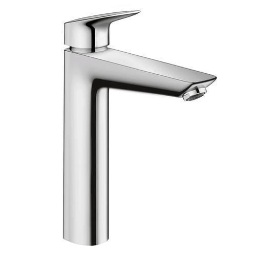 "Hansgrohe Bathroom Sink Faucet Chrome Hansgrohe ""Logis"" Single Hole Bathroom Sink Faucet"