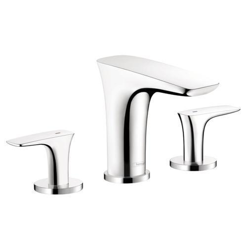 "Hansgrohe Bathroom Sink Faucet Chrome Hansgrohe ""PuraVida"" 8'' Widespread Bathroom Sink Faucet"