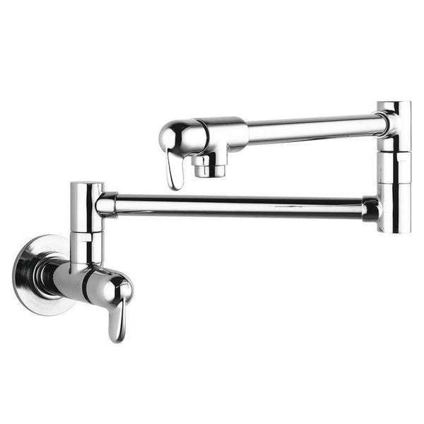 "Hansgrohe Kitchen Faucet Chrome Hansgrohe ""Allegro E"" Pot Filler Wall Mounted Kitchen Faucet"