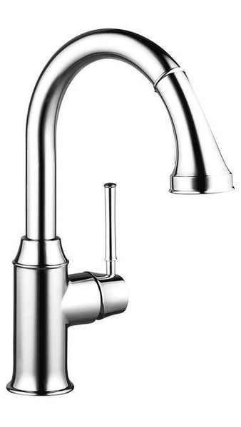 "Hansgrohe Kitchen Faucet Chrome Hansgrohe ""Talis C"" W/Pull Down 2 Spray Prep Kitchen Faucet"