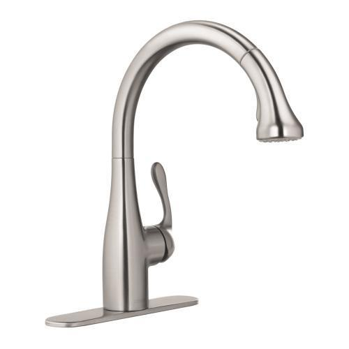 "Hansgrohe Kitchen Faucet Hansgrohe ""Allegro E"" Pull-Out Spray Kitchen Faucet"