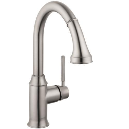 "Hansgrohe Kitchen Faucet Hansgrohe ""Talis C"" Pull-Out Spray Kitchen Faucet"