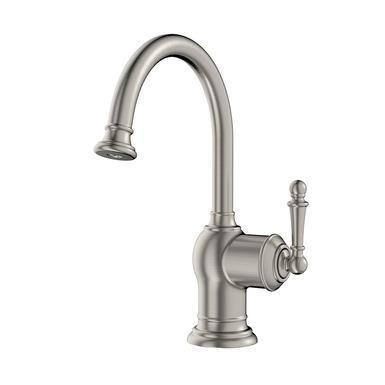 "In-Sink-Erator Beverage Faucet Satin Nickel In-Sink-Erator ""Iris"" Beverage Faucet"