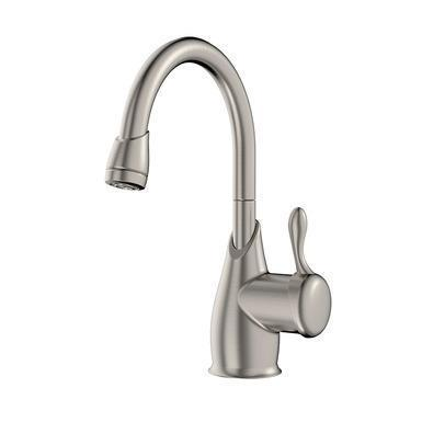 "In-Sink-Erator Beverage Faucet Satin Nickel In-Sink-Erator ""Melea"" Beverage Faucet"