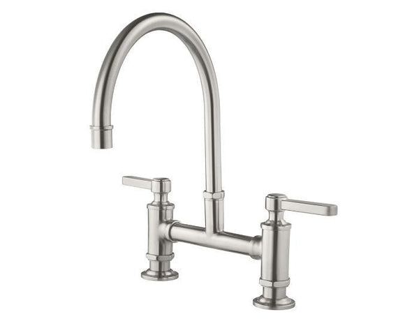 "Pfister kitchen faucet Stainless Steel Pfister ""Port Haven"" Two Handle Kitchen Faucet"