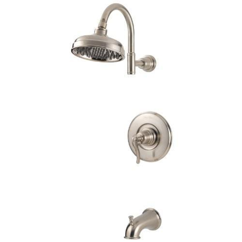 Pfister Shower Trim Brushed Nickel Pfister Ashfield Tub And Shower Trim
