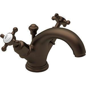 "rohl bathroom sink faucet Rohl ""Edwardian"" High Neck C-Spout Lavatory Faucet"