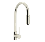 "rohl kitchen faucet Polished Nickel ROHL ""MODERN ARCHITECTURAL"" PULL-OUT SPRAY KITCHEN FAUCET"