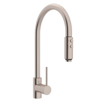 "rohl kitchen faucet Satin Nickel ROHL ""MODERN ARCHITECTURAL"" PULL-OUT SPRAY KITCHEN FAUCET"