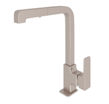 "rohl kitchen faucet Satin Nickel ROHL ""MODERN"" PULL-OUT SIDE LEVER KITCHEN FAUCET"