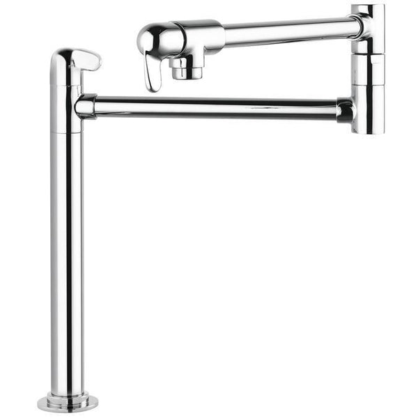 "tapandfaucet.com Kitchen Faucet Chrome Hansgrohe ""Allegro E"" Pot Filler Stand Kitchen Faucet"
