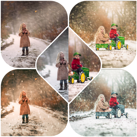 Winter Bundle! Winter Wonderland Preset Collection + Cozy Winter Preset Collection