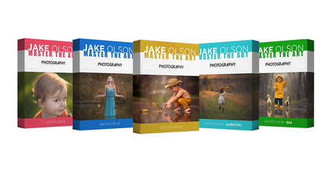 5-Part Masterclass Intensive (+Q&A) With Jake Olson 24 Hour Mega Summer Flash Sale!!!