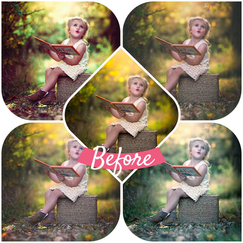Jake Olson's Spring Collection Presets