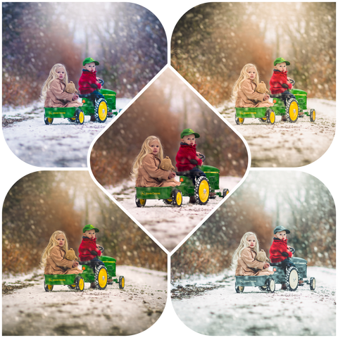 Jake Olson's Winter Wonderland Preset Collection