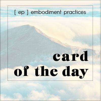 Intention Card-of-the-Day