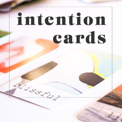 Intention Cards w Guide