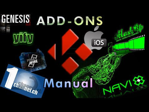 Manually Install Addons
