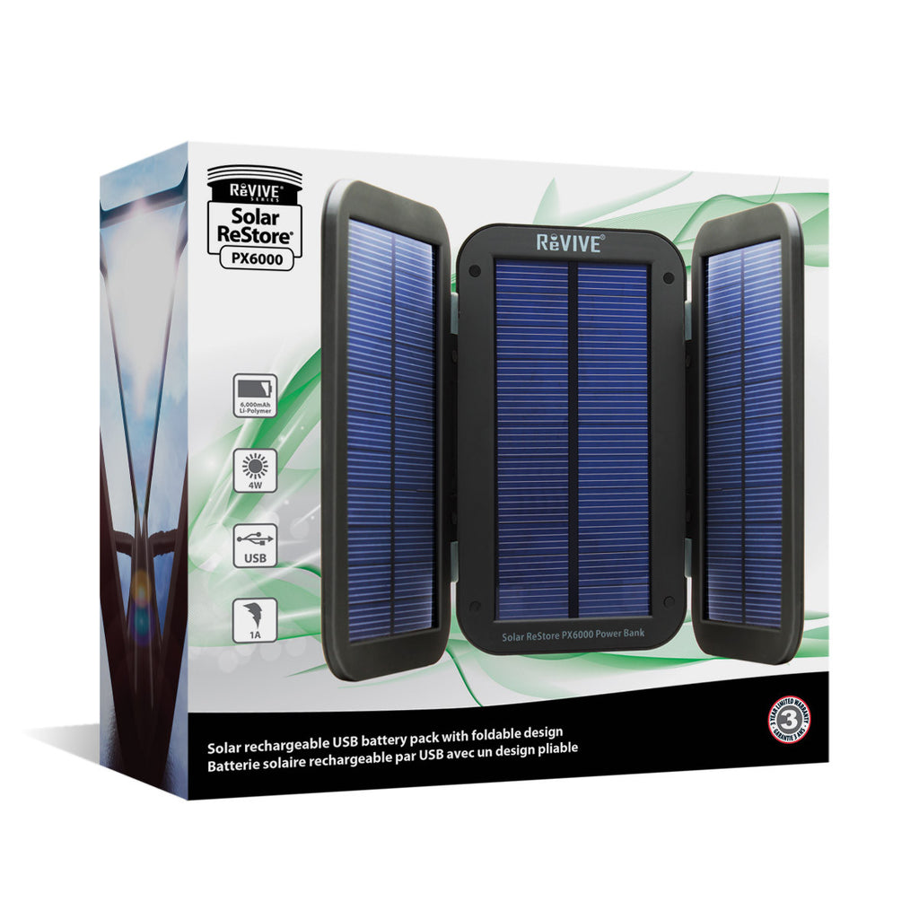 Lightweight & Portable:  Power Bank w/ 4W Active Charging Solar Panels , Folding Wing Design -,PowerBank - iGadgetfied