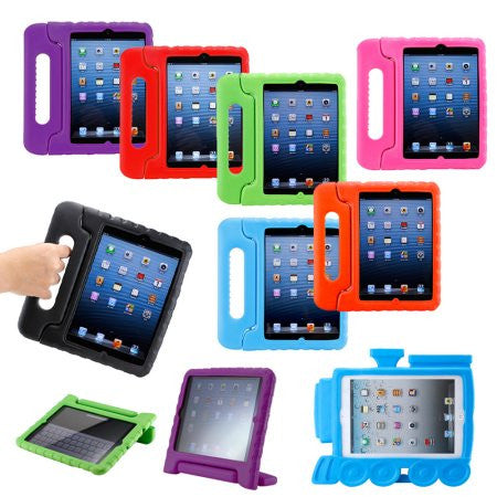 Apple iPad Mini / Mini Retina / Mini 3 Case (2014 Release) Kid Safe+Friendly Protective Foam Case Cover Stand,Case - iGadgetfied