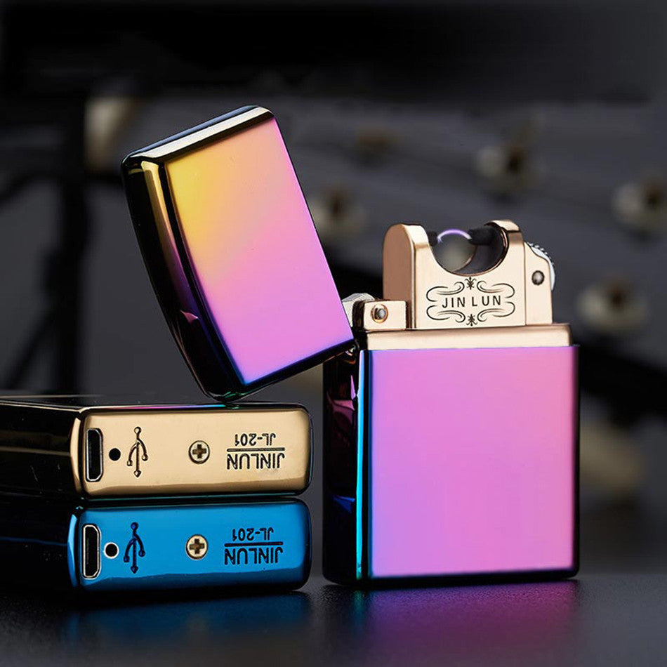 Novelty Electronic Cigarette Lighter ultra-thin Metal Flameless Lighters,Gadgets - iGadgetfied
