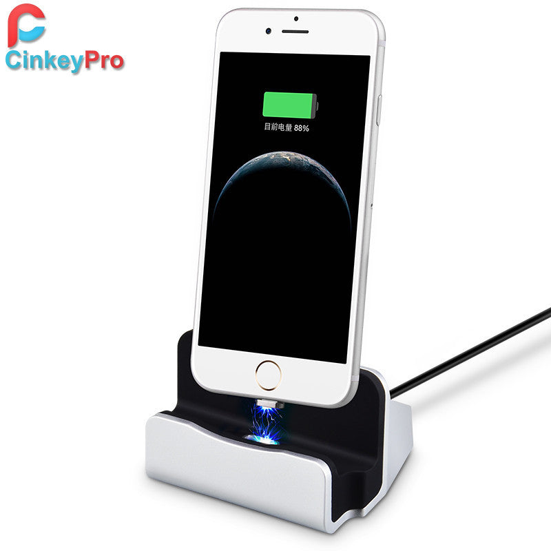Charger Dock Magnetic Wireless Design Charging  For IOS / Adnroid Universal  Phone Sync Data Station,Accessories - iGadgetfied