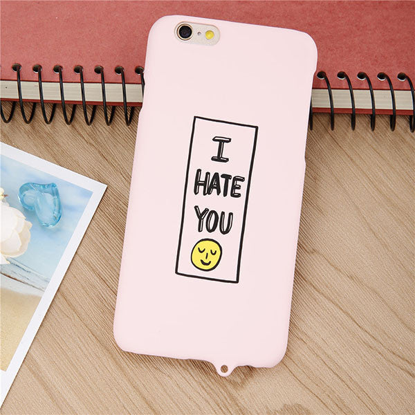 Cartoon Smile Case for iphone 6 / 6s / Plus,Case - iGadgetfied