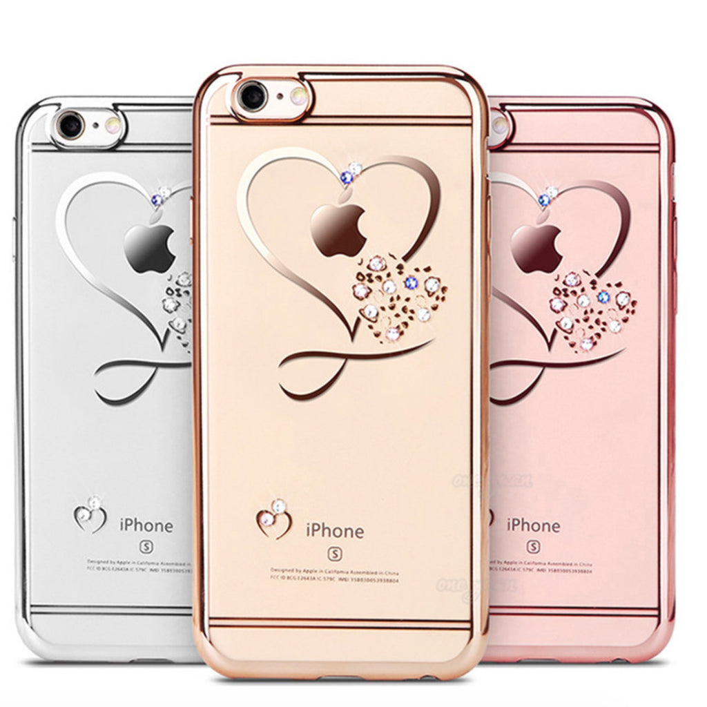 Crystal Heart Cases For iPhone 7 / 6 / 6S / Plus,Case - iGadgetfied
