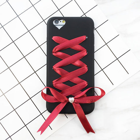 ❤️& Bowknot Cover for iPhone 7 6 6S Plus,Case - iGadgetfied