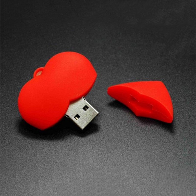 Red Heart USB,Accessories - iGadgetfied