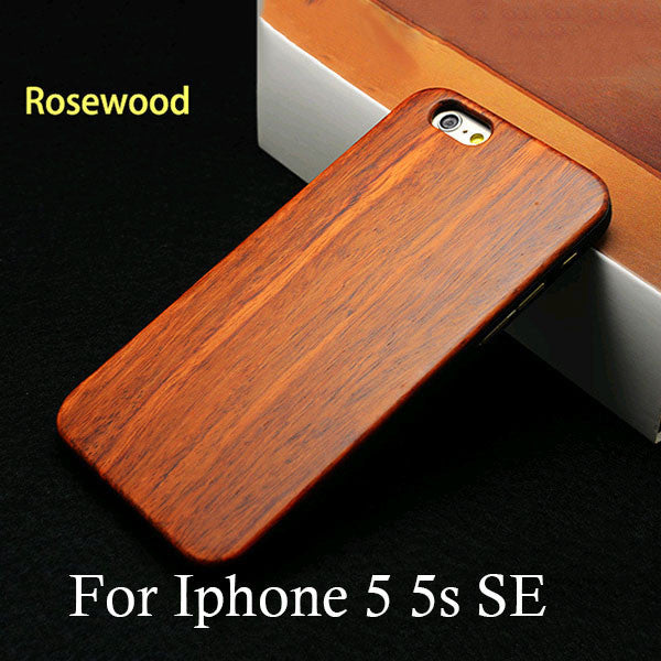 Genuine Rosewood Case For iPhone 5 / 6 / 7,Case - iGadgetfied