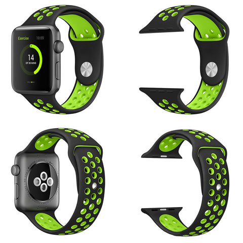 Nike+ Plus Silicon Sports Watch Band for Apple Watch 38/42mm,Accessories - iGadgetfied