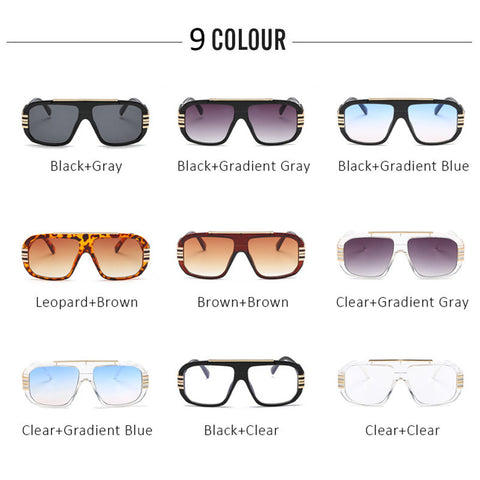 Men Fashion Gradient Sunglasses