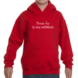 Brain Fog Is My Nemesis Spoonie Kids' Youth Hoodie Sweatshirt - Choose Color - Sunshine and Spoons Shop