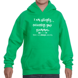 I'm Not So Silently Correcting Your Grammar  Kids' Youth Hoodie Sweatshirt - Choose Color - Sunshine and Spoons Shop