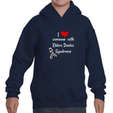 I Love Someone with Ehlers Danlos Syndrome EDS Kids' Youth Hoodie Sweatshirt - Choose Color - Sunshine and Spoons Shop