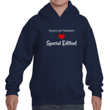 Special Edition, Not Special Needs Kids' Youth Hoodie Sweatshirt - Choose Shirt