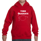 Tubie Graduate G Tube Feeding Tube Kids' Youth Hoodie Sweatshirt
